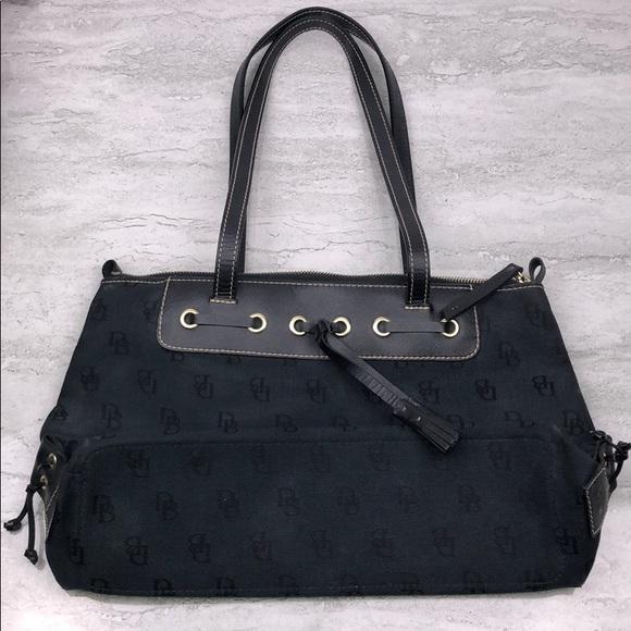 Dooney & Bourke Handbags - DOONEY & BOURKE Classic Monogram Tassel Purse
